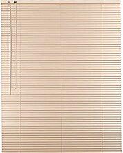 Hochwertige Aluminium Jalousie Jalousette Rollo 205 x 120 cm / 205x120 cm in Farbe rosa - Bedienseite links // Maßanfertigung / Fensterjalousie / Fensterjalousette / Alulamellen / Alu-Lamellen