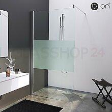 Hochwertige Design Duschwand mit Nanoeffekt | 80 x