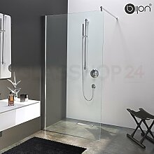 Hochwertige Design Duschwand mit Nanoeffekt | 90 x