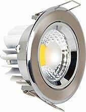 Hochwertige Einbaustrahler 5 watt COB LED Spot