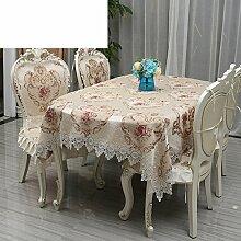 Hochwertige europäische,tischtuch,luxuriöse amerikanische,tischdecke für restaurant,untersetzer,runde tischdecke-B 35x200cm(14x79inch)