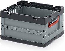 Hochwertige Faltbox Klappbox 40x33x22cm ohne