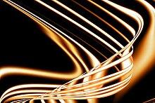 Hochwertige Fototapete - Abstrakte Schwingungen I