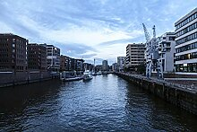 Hochwertige Fototapete - Hamburger Hafen I