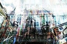 Hochwertige Fototapete - Oldenburger Fotocollage I