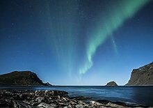 Hochwertige Fototapete - Polarlichter I