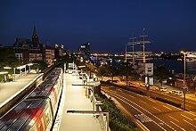 Hochwertige Fototapete - U-Bahn-Station