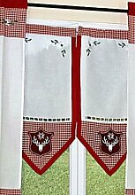 hochwertige Gardine PANNEAUX Scheibenhänger
