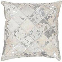 Hochwertige Patchwork-Kissen aus 100% Leder Lavish