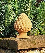 hochwertige Pininenzapfen aus Kreta, 28 cm, mediterrane Deko Außenbereich Garten