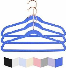 Hochwertige Samt-Kleiderbügel für Kinder, 35,6