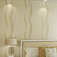 Hochwertige schwarze und graue Thess Wellenlinien auf dem Vlies Tapete Wasser Kurve gestreifte Tapete schlafzimmer wohnzimmer Hintergrundbild , 10,052 Wohneinheiten, 53*1000