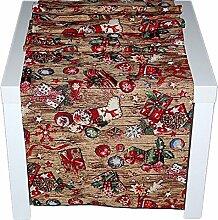 hochwertige Tischdecke 50x150 cm eckig WebGOBELIN