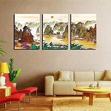 Hochwertige Wandschmuck (Crystal Film) Moderne dekorative Malerei Wohnzimmer Frameless Malerei Sofa Hintergrund Wandmalerei ( farbe : #7 , größe : 40*60 )