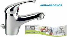 """Hochwertige Waschtischarmatur-Hochdruckarmatur -Einhebelmischer-Serie:Hoga -Die """"Athos"""" Waschtisch-Armatur eignet sich hervorragend für kleinere Waschbecken-Fa.Schuette"""