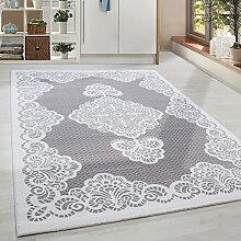 Hochwertiger Acryl Teppich in Barock Stil mit