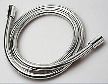 Hochwertiger Duschschlauch Brauseschlauch Brause PVC Schlauch 150cm Silber Deluxe