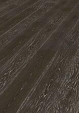 Hochwertiger Handgefertigter Parkettboden / Fertigparkett / Parkettboden Elegance - Eiche Landhausdiele lackiert - gebürstet - Natur (Los Angeles) - 89,90 € pro m²