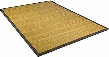 Hochwertiger massiver Bambusteppich lasiert mit