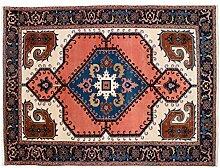 Hochwertiger Orientteppich Heris-Muster (ca. 235x320 cm) · Klassisch · handgeknüpft · Schurwolle · Bunt · S081082
