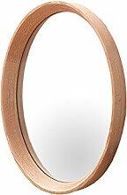 Hochwertiger Spiegel OAK oval nordamerikanische