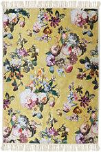 Hochwertiger Teppich mit romantischem Rosenmotiv