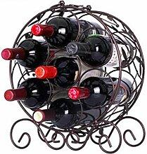 Hochwertiges Flaschen-Weinregal für 7