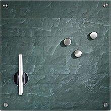 Hochwertiges Memoboard / Pinnwand, Glas und