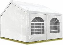 Hochwertiges Partyzelt 4x4 m Pavillon Zelt