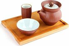 Hochwertiges Yixing Single-Tee-Set aus Zisha-Ton