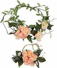 Hochzeit Blumen Kranz Stirnband Mit Verstellbaren