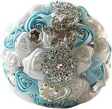 Hochzeit Brautstrauß der Braut Rosen Werfen