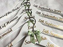 Hochzeit Kleiderbügel, personalisierbar