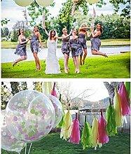 Hochzeit Partydekoration. 5/Packung 24 Packungen/Sets. Fluss Sura Papier Papierblumen gesäumten Band