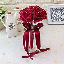 Hochzeit Strauß Künstliche Blumenstrauß