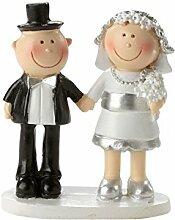 Hochzeitspaar Silberhochzeit 25 Jahre Deko