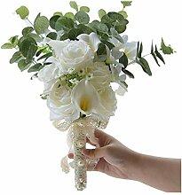 Hochzeitsstrauß Brautstrauß mit Blumen,