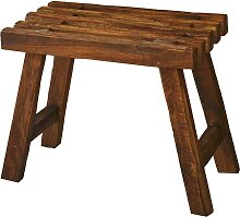 Hocker  aus Teak Altholz massiv