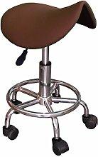 Hocker Ergonomischer Schokolade Teleskop Hat Rollen höhenverstellbar Sitz Stuhl