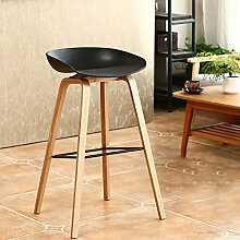 Hocker Holz Barhocker Kreative Bar Stuhl Moderne