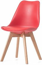 Hocker Massivholz Stuhl Home Esszimmerstuhl Erwachsene Stuhl Kreative Freizeit Stuhl Einfache Schreibtisch Stuhl (46,5 * 42 * 82 cm) Stühle ( Farbe : F )