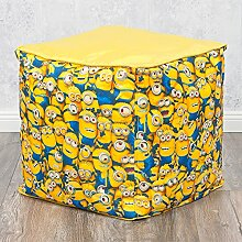 Hocker MINIONS 40x40cm gelb Kinderhocker