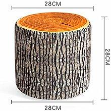 Hocker ZHANGRONG- Schuhhocker wechseln Kreative runde Tuch Nachahmung Frucht Sofa Wohnzimmer Sofa (Stil optional) -Sofa (Farbe : 6)