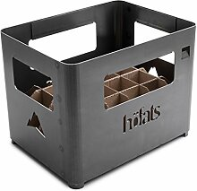 höfats - BEER BOX Feuerkorb - Getränkekiste,