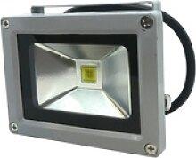 Höfftech LED Strahler Fluter 10W Flutlicht IP 65