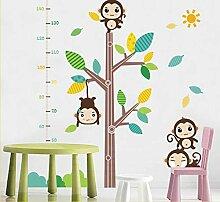 Höhe Wandaufkleber Cartoon Kinderzimmer