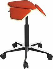 Höhenverstellbarer Bürohocker Plus