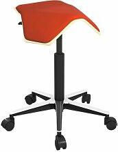 Höhenverstellbarer Bürohocker
