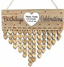 Hölzerne DIY Kalender Hanging