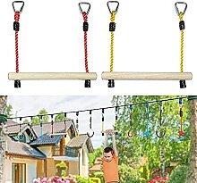 Hölzerne Trapez-Klettern Pole Swing